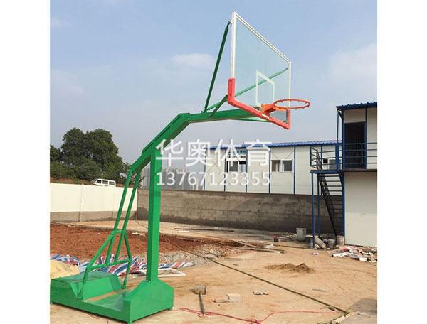 移動凹箱籃球架